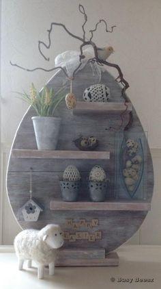 Gorgeous Grey Easter Display