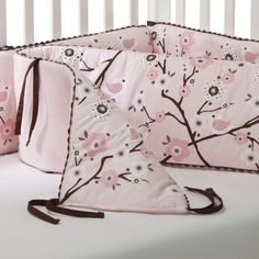 Migi Pink Blossom Crib Per Pers Wishes For Baby Cherry