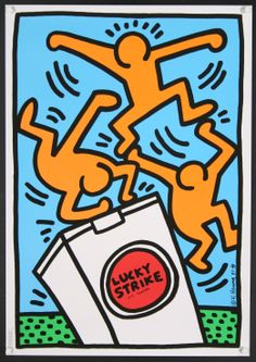 Lucky Strike Haring 2