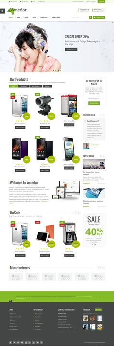 Venedor is Ultimate Multi-Purpose WordPress Theme