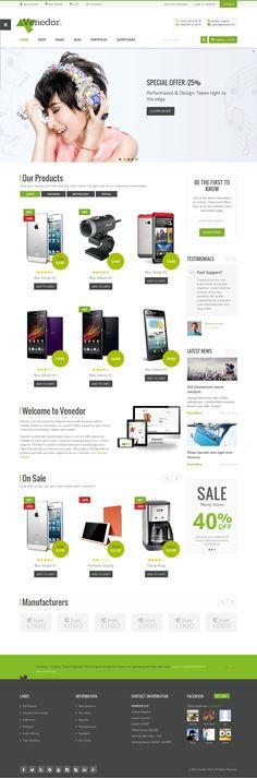 Venedor is Ultimate Multi-Purpose WordPress Theme