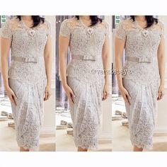 #partydress #kebaya #silver #pengantin #lace #swarovski #verakebaya ❤️❤️❤️