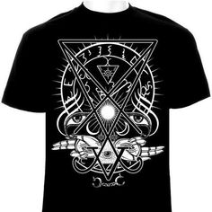 "Sigil of Lucifer ""Awakened Luciferian"" Occult T-Shirt"