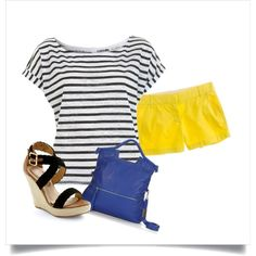 yellow shorts - must have for this summer!!!