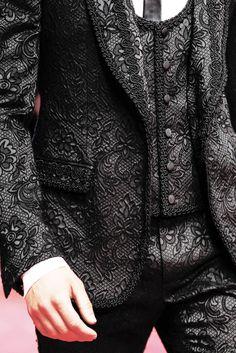 Glamorous?! Dolce & Gabbana, Milan Fashion Week, Menswear Spring/Summer 2015.