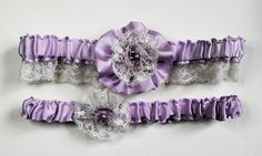 Garters... These are really cute!