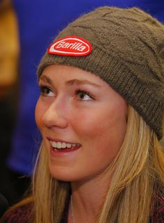 So much light in her eyes - Mikaela Shiffrin
