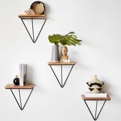 The Citizenry Londres Floating Table - Black 1 Diy Wall Decor, Diy Home Decor, Bedroom Decor, Decor Interior Design, Interior Decorating, Floating Table, Black Side Table, Home And Deco, Metal Furniture