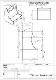 Get A Lifetime Of Project Ideas and Inspiration! Step By Step Woodworking Plans Woodworking Table Saw, Router Woodworking, Woodworking Projects Diy, Diy Projects, Popular Woodworking, Bartop Arcade Plans, Arcade Cabinet Plans, Arcade Console, Mini Arcade