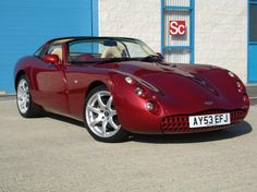 Red TVR Tuscan