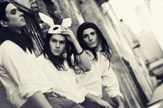 Elias, Wolfie and Bland doing some street style rockstar vibe with a bunny hat    Hair: Shannon Mason  Make-up Khanh NGuyen  Styling: Robert Michael Bakhach    http://www.graphicsmetropolis.com