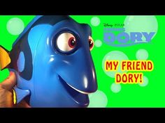 Finding Dory My Friend Dory Disney Pixar Talking Dory Toy She Talks Whale Sleeps Fun Kids Toys - YouTube