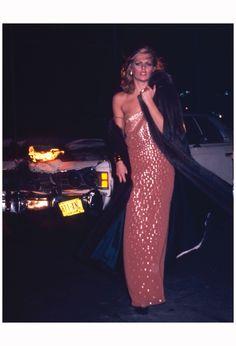 Patti Hansen 'Nightlife is your Dior'. Dior ad, 1976. Photo Chris von Wangenheim 4a