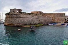 Castello aragonese #Gallipoli #Salento #Puglia #Italia #Italy #Viaggiare #Travel #AlwaysOnTheRoad #Holiday #Sea #Mare #Sun #Sole #Vacanze #Beach #Spiagge