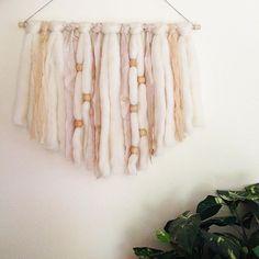 DIY: Fibre Wall Hanging