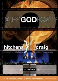 "I've not watched this, but normally anything that features Dr. William Lane Craig is a ""lock.""  However, I have heard Christopher Hitchens debate Dr. Frank Turek (it was Turek's first debate), and Hitchens sounded like a junior-high amateur.  So, I'll wager that Craig mops the floor with Hitchens."