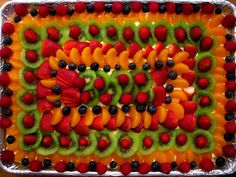 Fruit Pizza With Cream Cheese And Cool Whip Desserts Trendy Ideas Fresh Fruit Desserts, Cool Whip Desserts, Kid Desserts, Delicious Desserts, Dessert Recipes, Dessert Ideas, Fruit Ideas, Food Ideas, Fruit Recipes