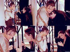 Kate & Leo|On Set of Titanic