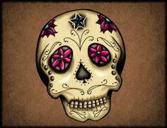 sugar skull by Metalhead99