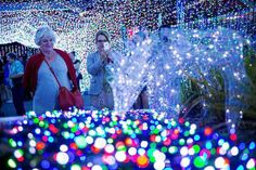 In Canberra, Australia, more than one million lights were set up, breaking the Guinness World Record... - Getty