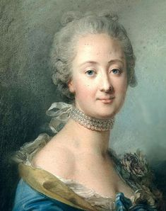 The Six Daughters and a Granddaughter of Louis XV Madame Elisabeth or Madame Premiere de France,first daughter of Louis XV and . Roi Louis, French Royalty, Rococo Fashion, French History, First Daughter, France, European Fashion, European Style, French Art
