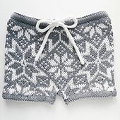 Must make this! Ravelry: Stjerneshorts/Starryshorts pattern by Tina Hauglund