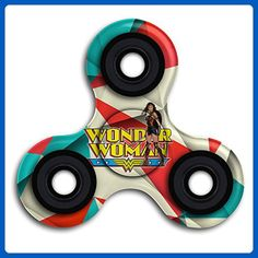 Wonder Woman Hot Sale Hands Spinner Tri-Spinner Fidgets Fingertip Bearing Toy Decompression Gyro And Autism Adults & Children For Killing Time Or Relaxation - Fidget spinner (*Amazon Partner-Link)