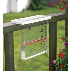 The Waterfall Rain Gauge by La Crosse Technology™ | Rain Gauges