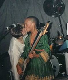 David Bowie & his dear friend Gail Ann Dorsey