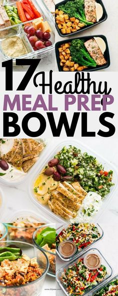 Meal prep saves you time, money and hassle. Have at least one healthy meal in your fridge. Below are 17 Healthy dinner recipes you can meal prep on Sunday. Prepped Lunches, Healthy Lunches, Healthy Eating, Healthy College Meals, Healthy Food, Make Ahead Healthy Meals, Healthy Meal Planning, Healthy Weekly Meal Plan, Clean Eating