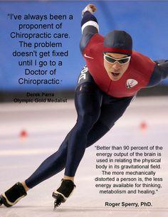 Olympic athletes choose chiropractic.  Preventive Medicine, PC