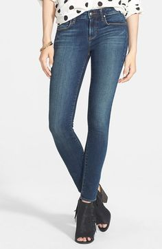 Articles of Society 'Sarah' Skinny Jeans (Medium Wash) (Juniors) available at #Nordstrom I would just like a new crisp pair of either skinny or straight leg