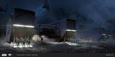 ArtStation - ILM Art Department Challenge. THE RIDE, Ivan Dedov