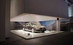 Audi showroom by POINT studio, Milan store design exhibit design
