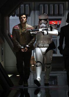 Poe Dameron and Finn - The Force Awakens