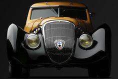 1937 Peugeot 402 Darl mat Pourtout Coupe Georges Paulin