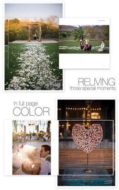 Blurb wedding books