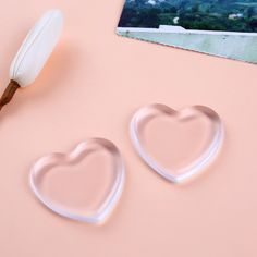 New Make up Puff Jelly Silisponge Powder Heart Love Transparent Silicone Gel Sponge Puff Face Foundation Cosmetic Makeup 2017