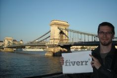 I will hold your sign in front of most amazing Budapest sightseeing places for $5, on fiverr.com