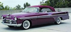1956 - DeSoto Fireflight Convertible Maintenance of old vehicles: the material for new cogs/casters/gears/pads could be cast polyamide which I (Cast polyamide) can produce