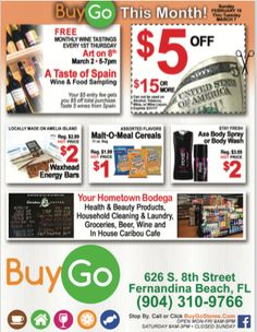 Check it out! Waxhead is in this week's BUYGO newspaper ad!  #ameliaisland - http://ift.tt/1HQJd81