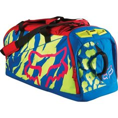 Colourful training bag - capacious, comfortable and pretty!