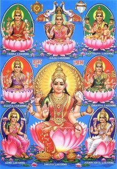 Portal dos Mitos: Lakshmi