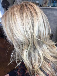 Blonde highlights #merakihairr instagram