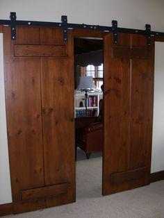 Wnętrze drzwi przesuwne stodoła styl zdjęć - 1