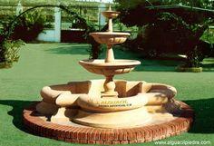 Resultado de imagen para fuentes y jardines exteriores