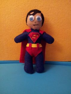 Scented Superman Plushie I made for my niece !