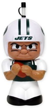 $16.99 - NFL New York Jets TeenyMates Big Sip 16 oz. Water Bottle - Now you and your little football fan can root for the family's favorite team together with the NFL TeenyMates Big Sip Water Bottle. Featuring a cool 3D character design, this fun container will keep your little one hydrated and entertained all game long.