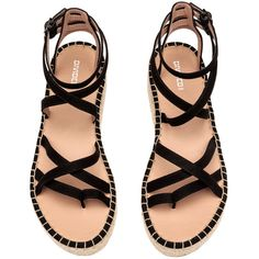 a2b4a78350bbe8 Platform Sandals  29.99 (205 BOB) ❤ liked on Polyvore featuring shoes