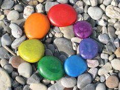 Rainbow Mandala - by Teifi Emerald